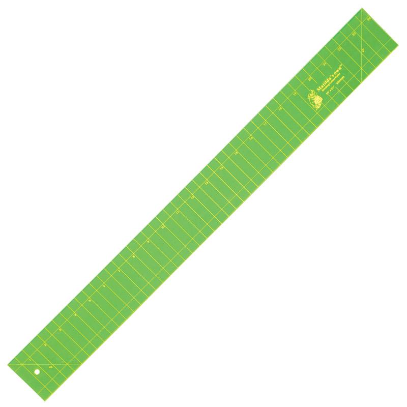 Binding Cutter Ruler - 24in x 2.5in