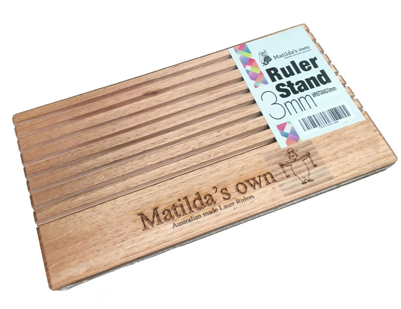3mm Slotted Wooden Ruler Stand