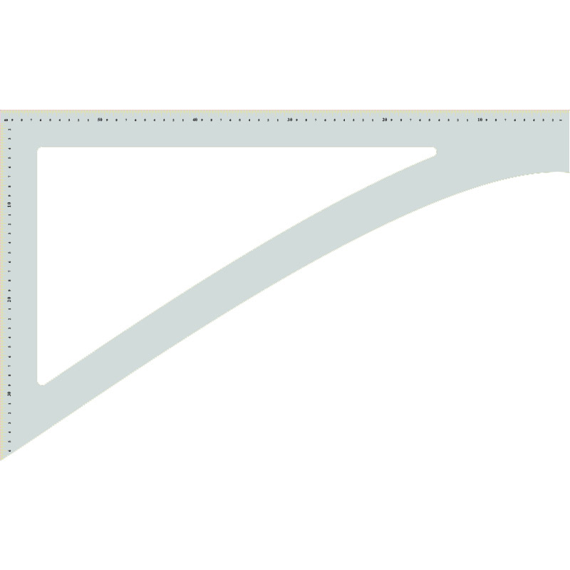 Pattern Drafting Square Printed