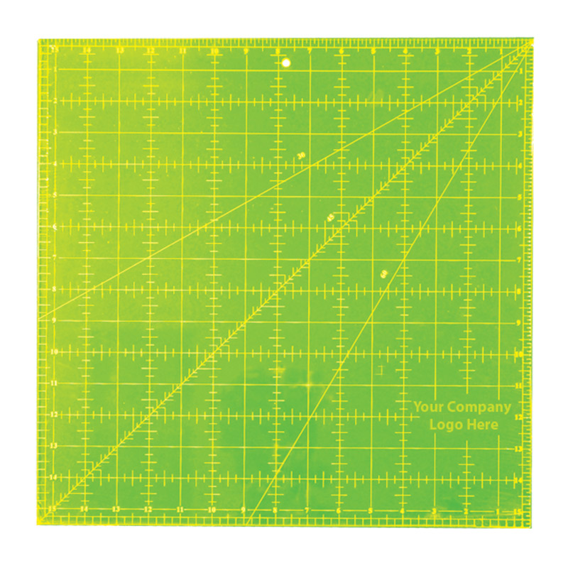 Imperial Square - 15.5in x 15.5in