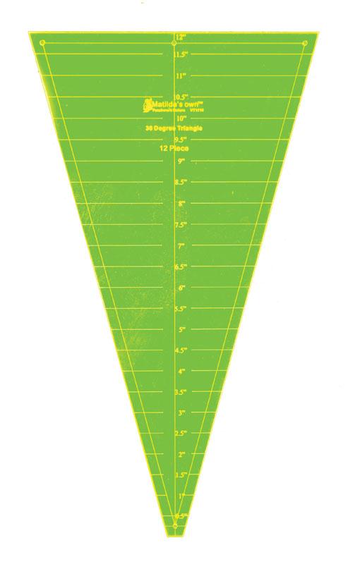 Triangle 30deg - 12in (No Tip)