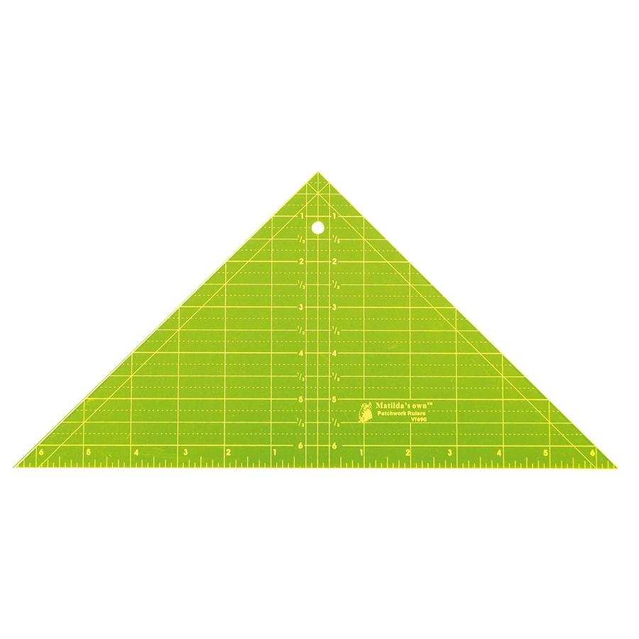 Triangle 90deg - 6.5in