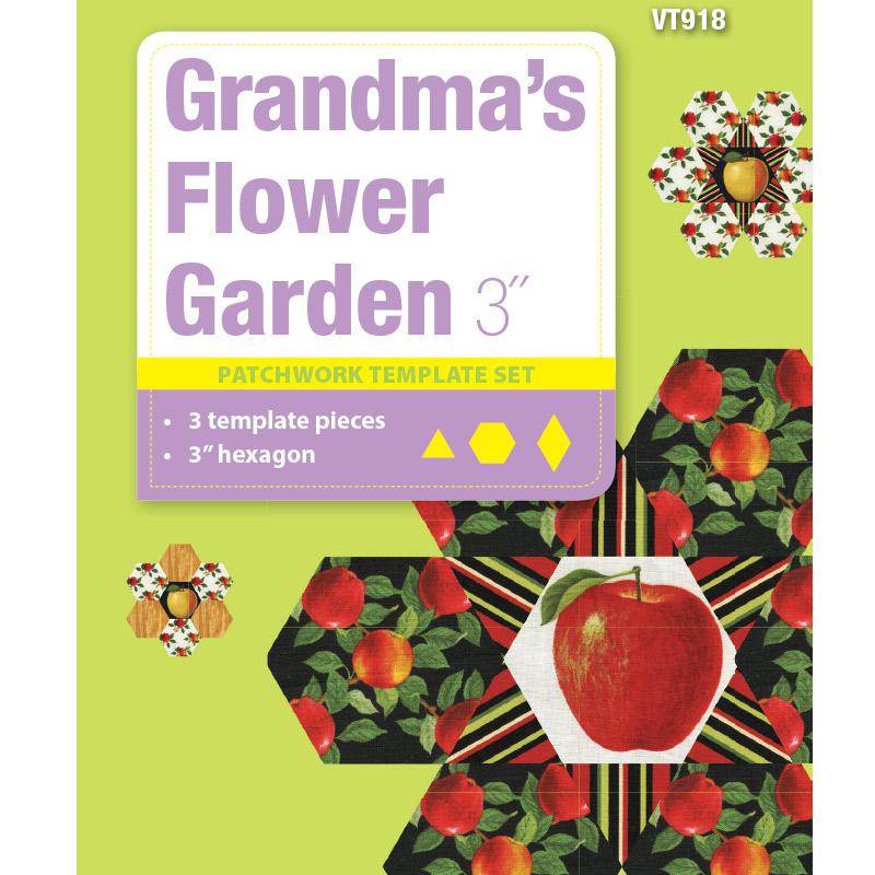 Grandma's Flower Garden - 3in
