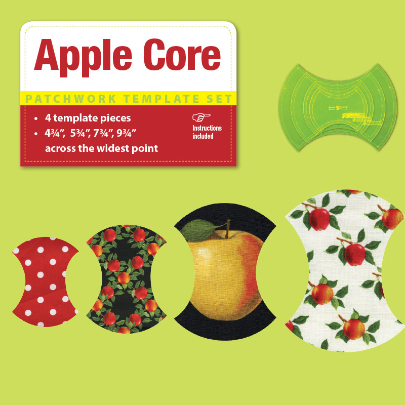 Apple Core - 4.75in + 5.75in + 7.75in + 9.75in
