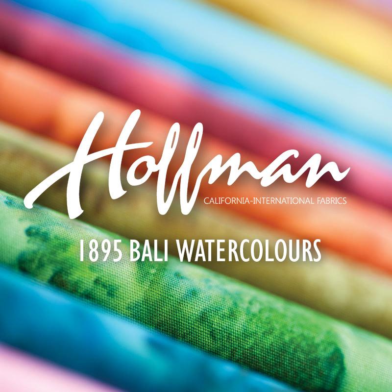 1895 Bali Watercolours