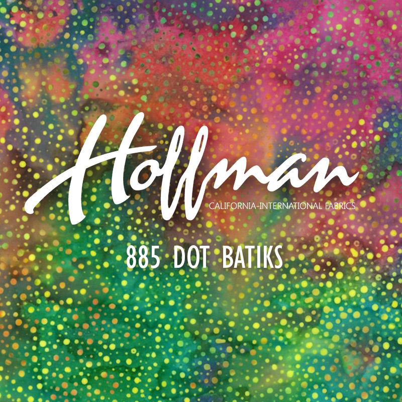 885 Dot Batiks
