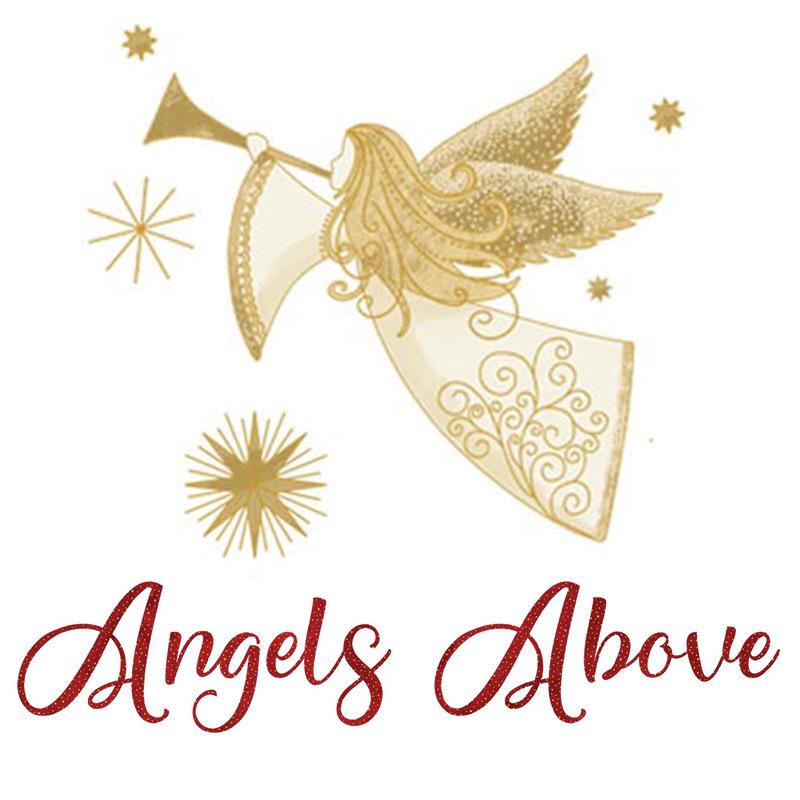 Angels Above Metallic