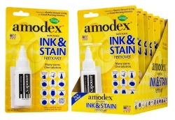 Amodex Display Box - Ink & Stain Remover 30ml x 6
