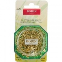 Safety Pins Gilded - 23mm x 0.75mm