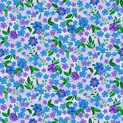 Light Purple - Small Floral