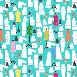 Turquoise - Sewing Patterns & Mannequins