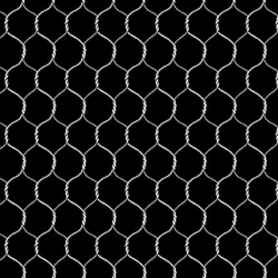 Black - Chicken Wire