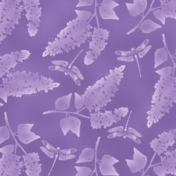 Lilac - Lilac and Dragonfly Tonal