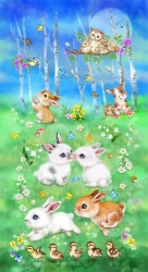 Emerald - Bunny Meadow Banner
