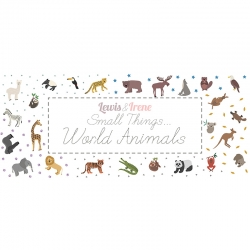 Small Things... World Animals Collection