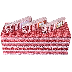 Red and White fabrics x 30m #46