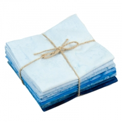 Blue Fat Quarters