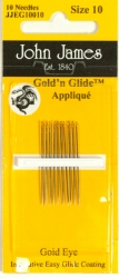 Gold'n Glide Applique Needles - Size 10