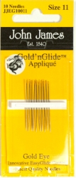 Gold'n Glide Applique Needles - Size 11