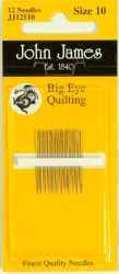 Big Eye Quilting Needles - Size 10