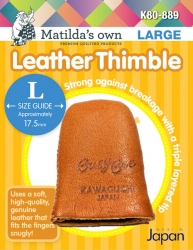 Leather Thimble - Large