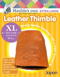 Leather Thimble - Extra Large