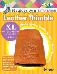 Leather Thimble - Extra Large