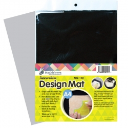 Design Mat Black - A4 size
