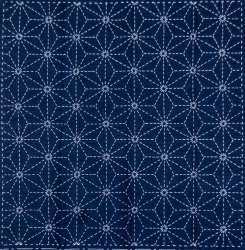 Sashiko Printed Cloth x 5 - Star