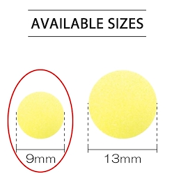 Baby Yellow - Plastic Snap 9mm
