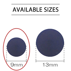 Navy - Plastic Snap 9mm