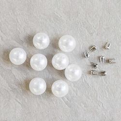White - Reve Pearl 8mm