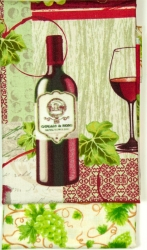 Aunties Two Wine Carrier Pattern + Fabric Kit (Wine Bottle)