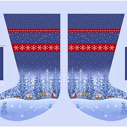 Stocking Panel (36in x 44in) - Tomten's Christmas