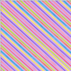 Bias Stripe Purple Fabric