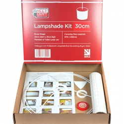Circle Lampshade Making Kit 30cm