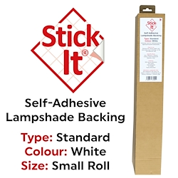 Stick It Lampshade Material (Tube) PVC Roll 1460mm x 500mm