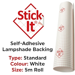 Stick It Lampshade Material (Tube) PVC Roll 150cm x 5m