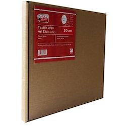 Textile Wall Art Kit Circle 30cm