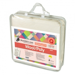 Wool 60/Poly 40 Queen Size Precut 2.4m x 2.7m