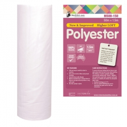 100% Poly 1.5m x 50m Roll