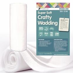 Super Soft Crafty Wadding - 90cm x 30m Roll