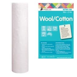 Wool 40% & Cotton 60%  2.4m(97in)