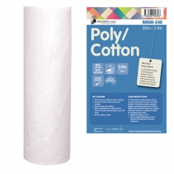 Cotton 80/Poly 20 2.4m x 30m Roll