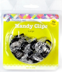 Matilda's Own Large Handy Clips x 25