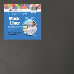 Mask Liner Super Cool - Grey ( 50cm x 50cm )