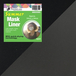 Mask Liner Summer - Mix colours (Approx 50cm x 50cm )