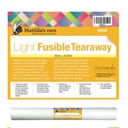 Fusible Tear Away Light - 50cm x 22.9m Roll