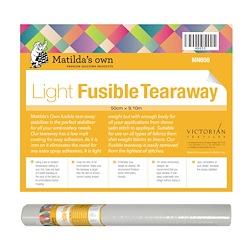 Fusible Tear Away Light - 50cm x 9.1m Roll