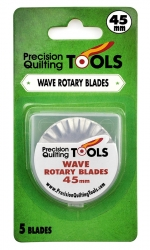 PQT Wave Rotary Blade - 45mm (5 Pack)